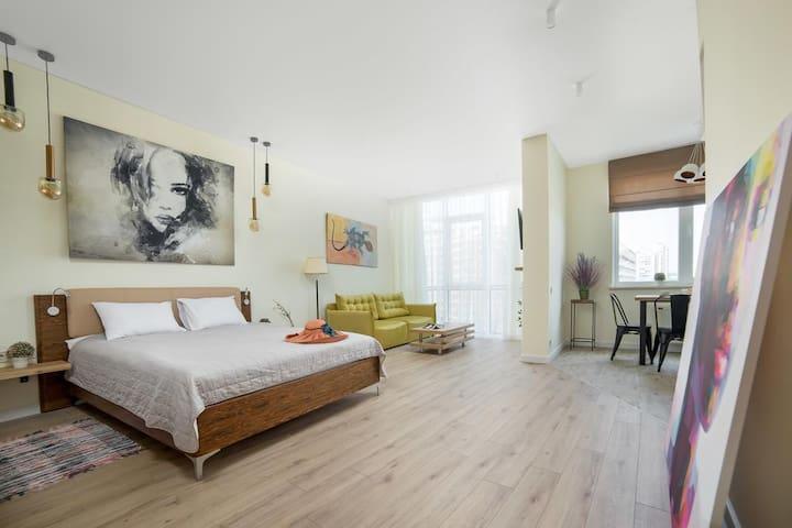 Odessa. Arcadia. Apartment LOFT Style