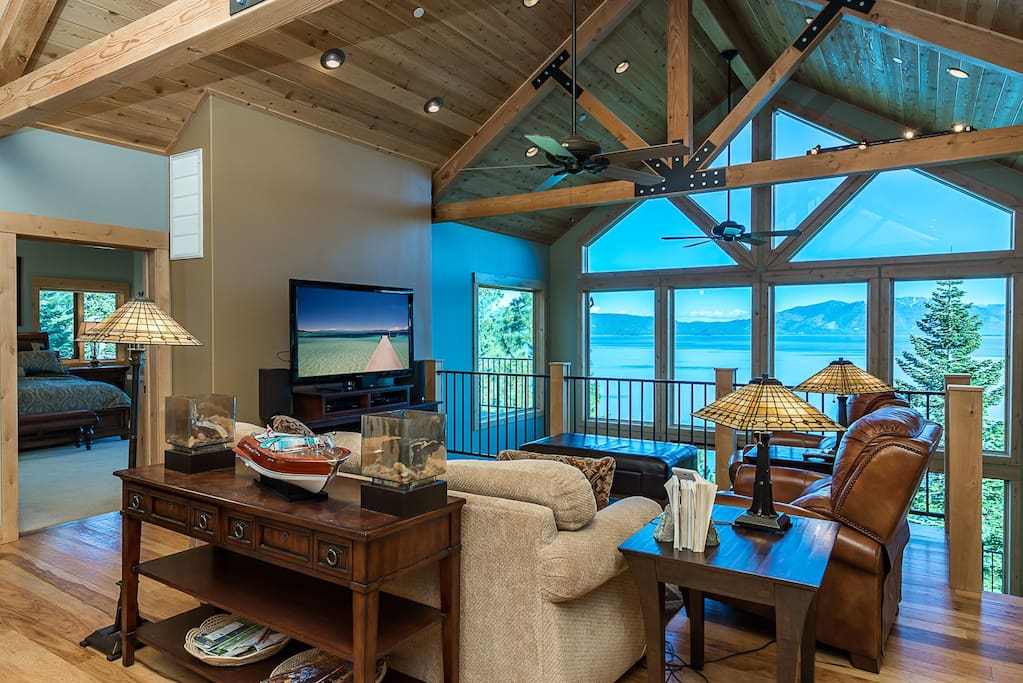 Unforgettable lake tahoe cabin houses for rent in tahoma for Cabin rental tahoe