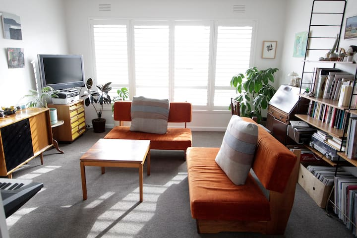 Stylish light filled apartment. - Clifton Hill - Leilighet