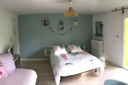 Chambre calme et indépendante