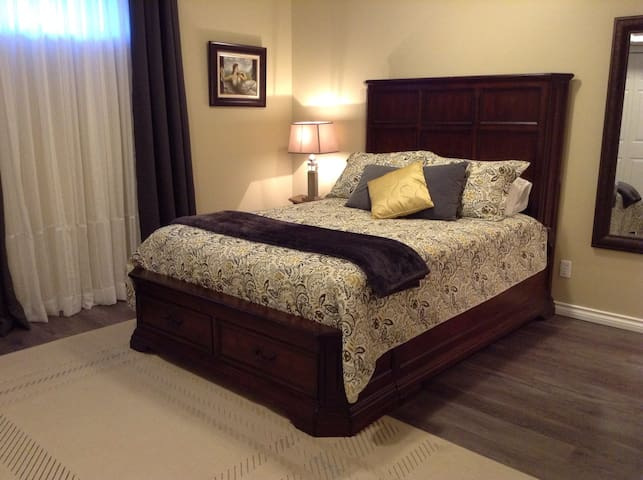 2 Room Cozy Suite & Private Access - Kelowna - Hus