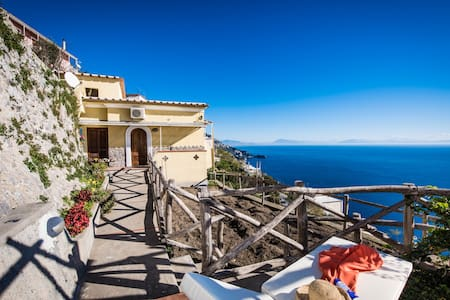 My home with breathtaking sea view - Praiano