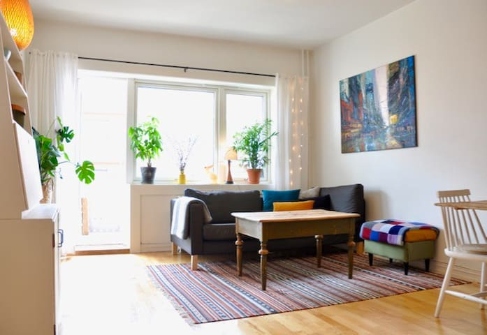 Cosy home with balcony close to Everything - Oslo - Condominium