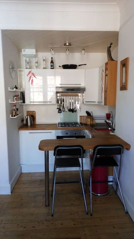Spacious flat on The Shore in Leith