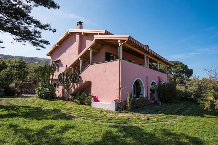 Casa Rosa - Taormina Etna Sea View - Nunziata - บ้าน