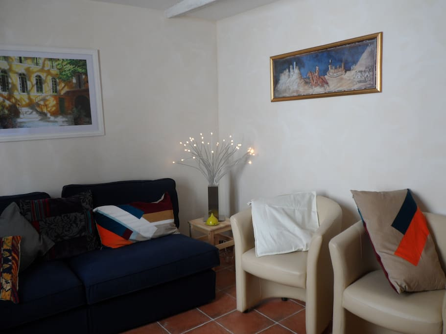 Sofa corner......in the living room