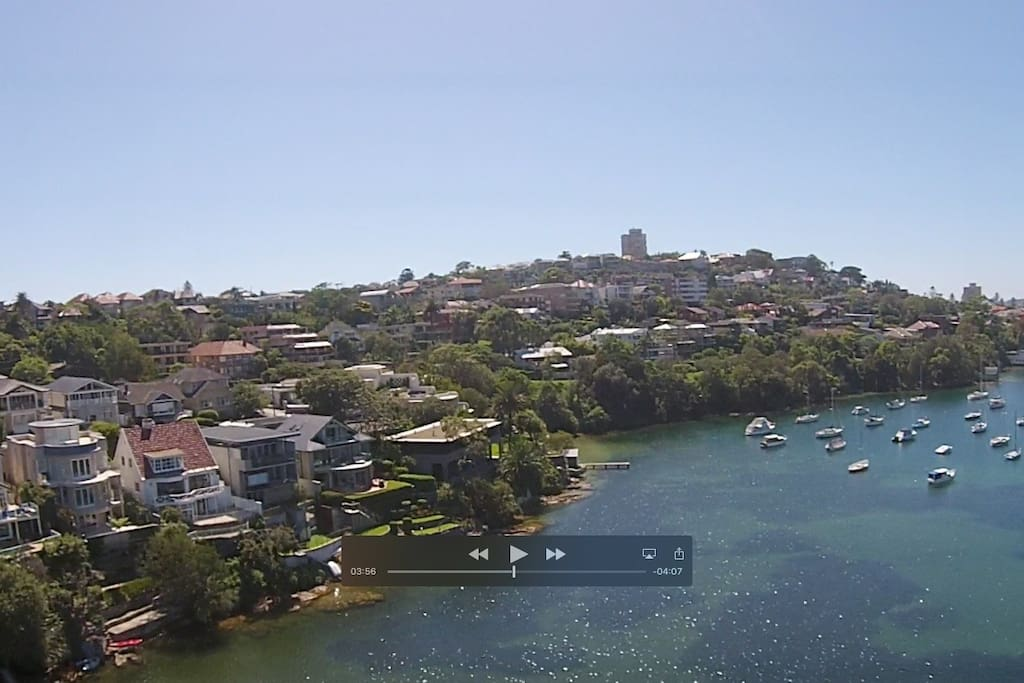 Drone Fly-by above Jilling Cove