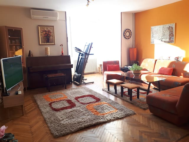 A cosy, bright appartment in the Heart of Skopje