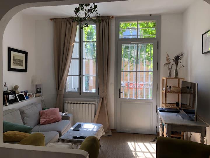 Maison charmante française au coeur d'Avignon
