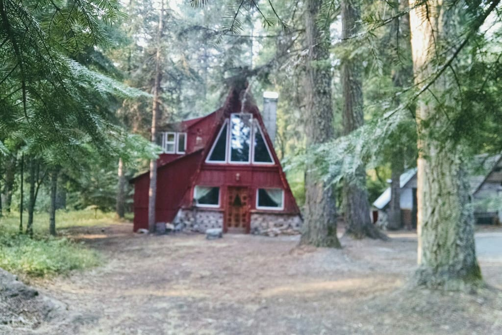 Enchanting a frame cabins for rent in baker city oregon for Anthony lakes cabin rentals