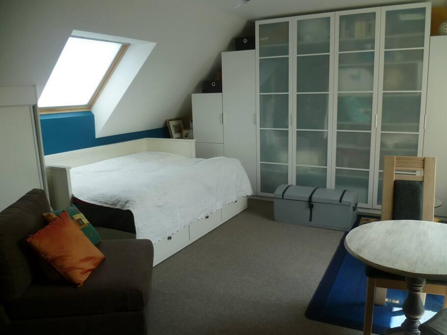 La chambre (lit 2 personnes)