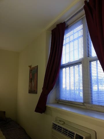 guest room's window & Air conditioner