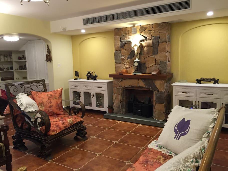 富有异域风情的房间