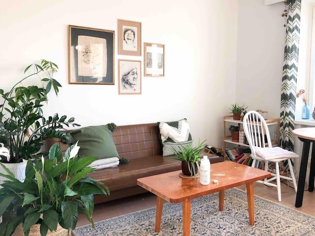 Vintage 2-room apartment in the heart of Kallio