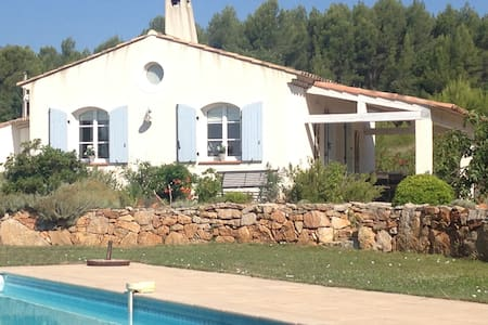 Villa luxueuse  récente de 130 m2 au calme absolu - Le Cannet-des-Maures
