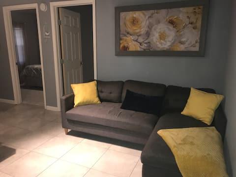 Beautiful cozy apartment.