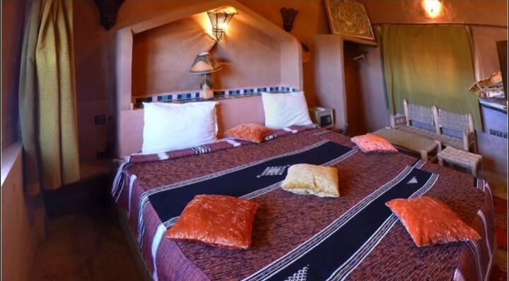 RAHA: Chambre double au Riad Maktoub