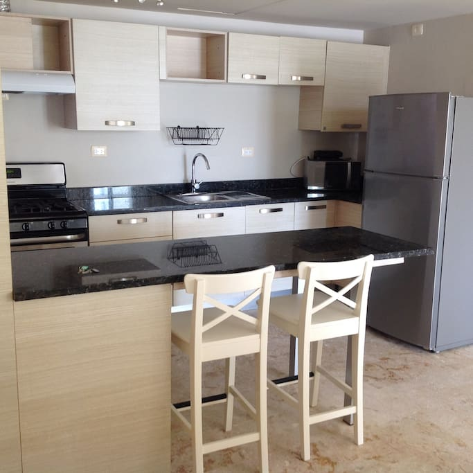 Great kitchen with all modern appliances