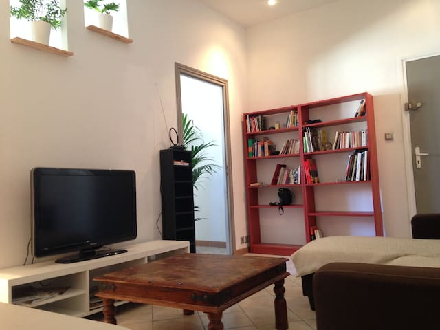 Spacious flat in the city center of Marseille 45m2 - Marseille - Lejlighed
