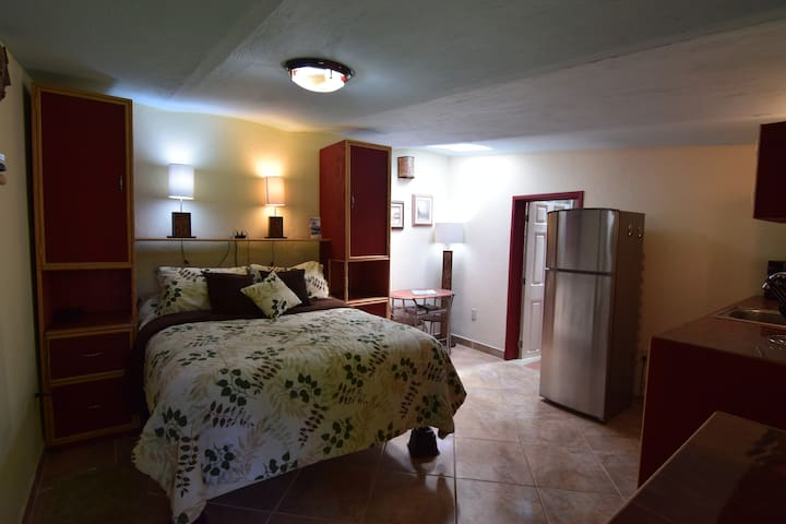 Compact, but comfortable casita with Kitchen and private bathroom