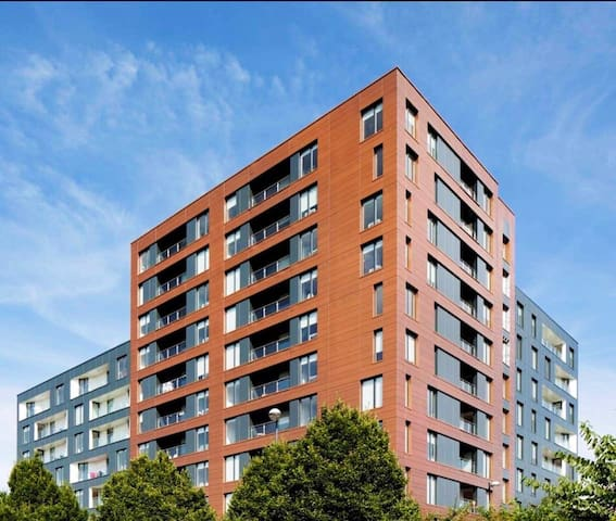 Modern 2 bedroom apartment in Salford