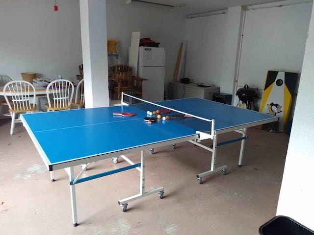 Newest addition-Stiga outdoor ping pong table