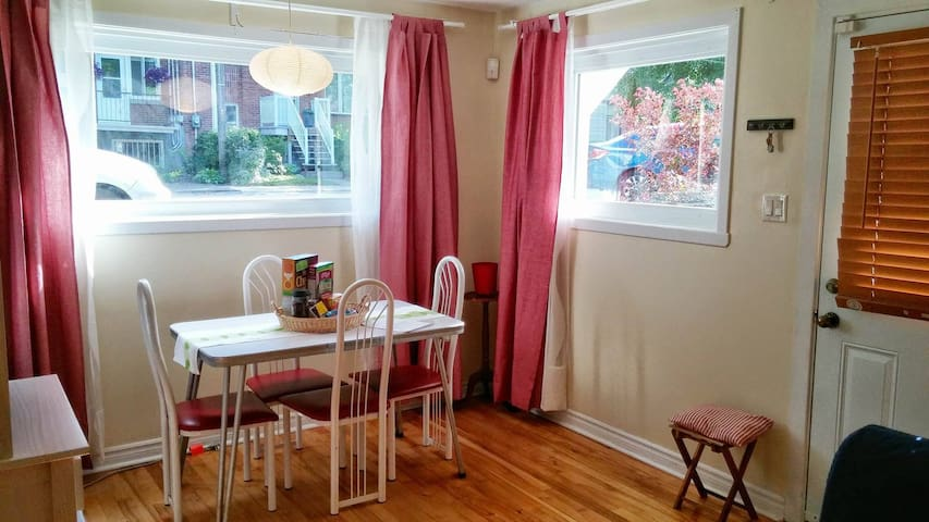 Entire home, 1bdr, fully furnished, bright - Montreal - Hus