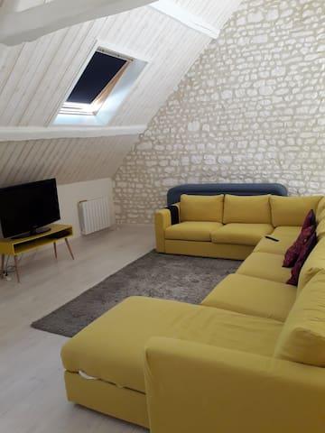 Maison en pierre totalement renovée