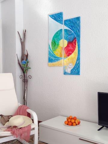 Квартира с новой мебелью, 350м пляж - Guardamar del Segura - Apartment