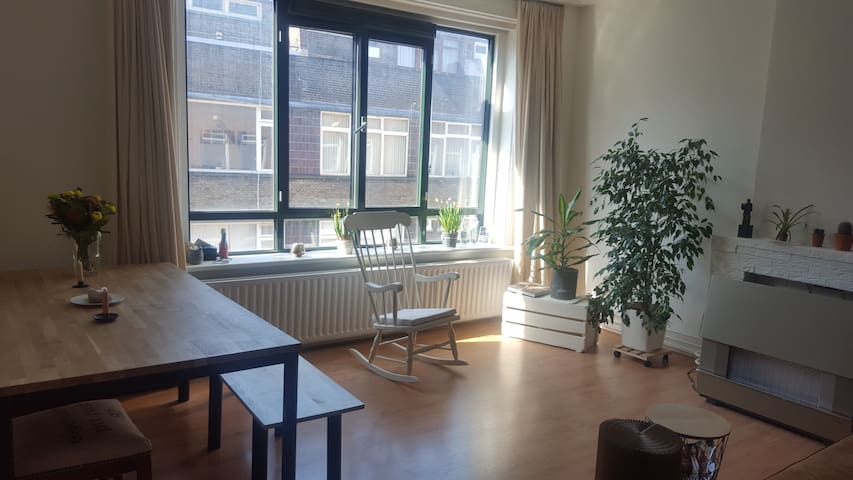 Spacious appartement for the local experience - Rotterdam - Apartment