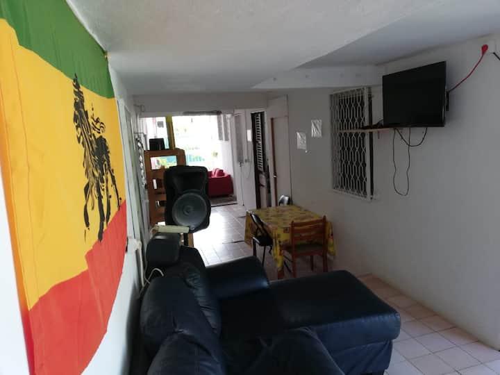 Chambre dans une maison avec accès indépendant-3