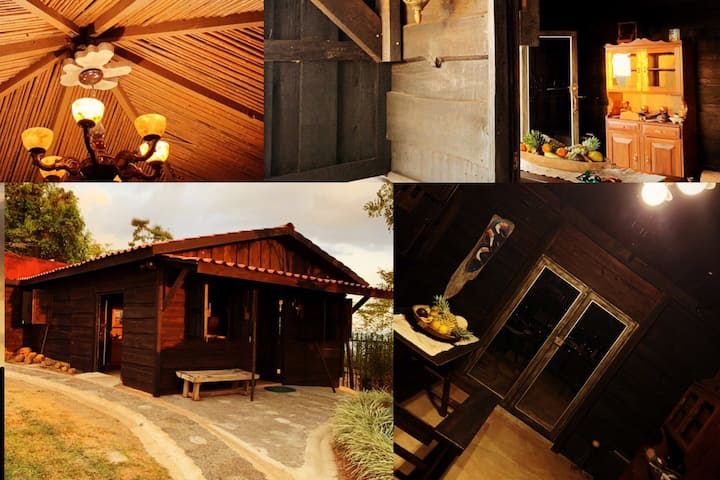 San Agustín: cabaña de campo con vista panorámica