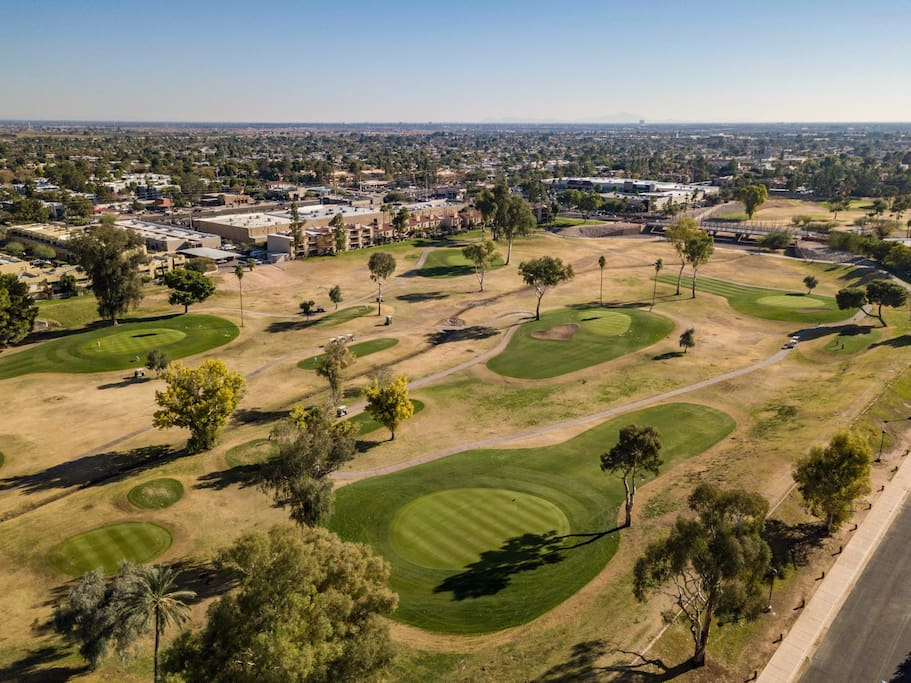 Over looking Continental Golf Course