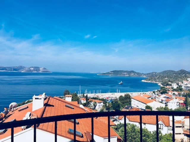Panorama appart Kas