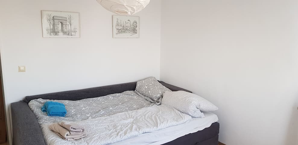 Cozy spacious room 15 min from Central