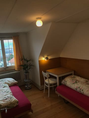 Double bedroom for 1-2 women, close to FHNW Olten