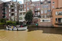 Amazing canal house/loft