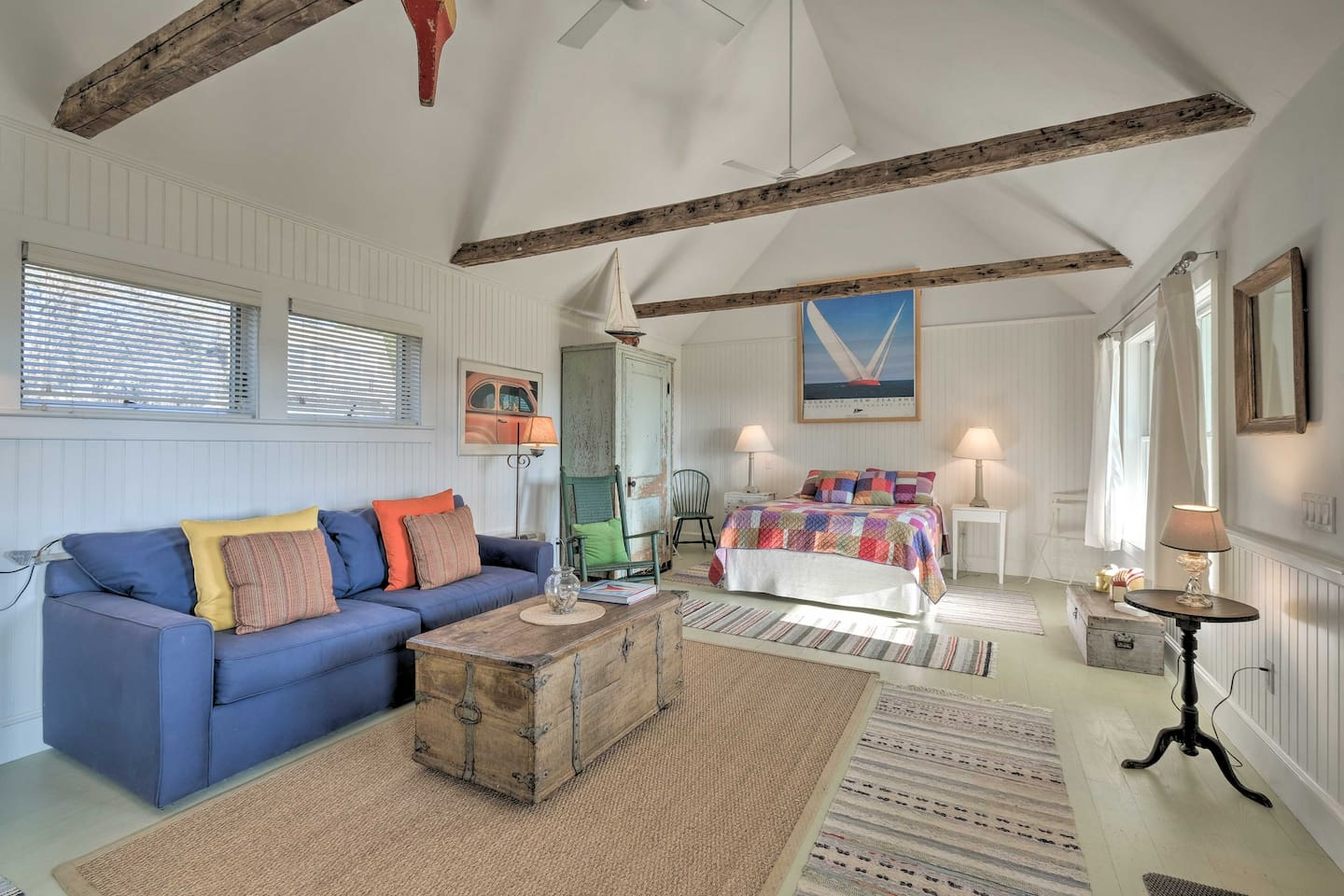 Escape to coastal Maine to discover this cozy vacation rental cottage!