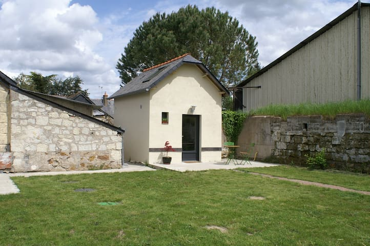 La petite maison, 600m Loire, apéro, vélo à dispo