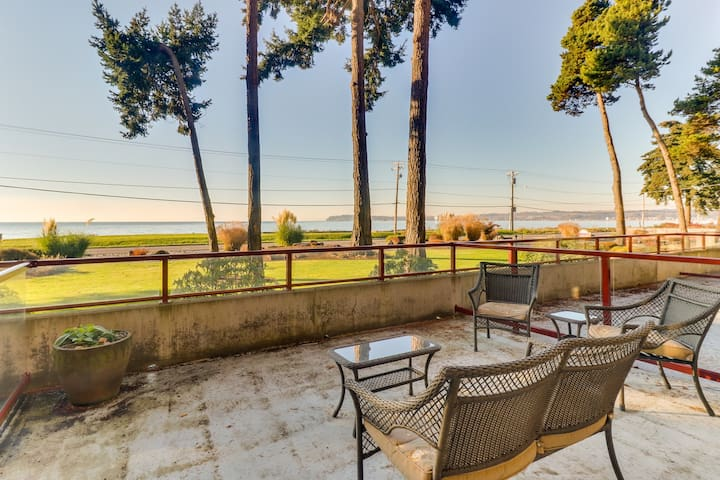 Updated condo right on the water with tremendous views!