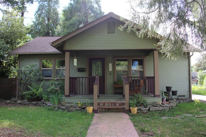 Comfy, cozy, quiet Craftsman- walk to downtown