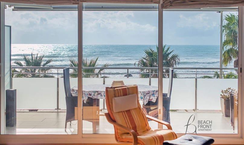 R66. Beachfront Apartment with terrace - Cubelles - Apartamento