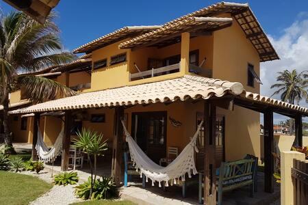 Casa à beira mar, Barra de São Miguel - AL