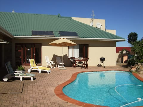 holiday flat with private pool
