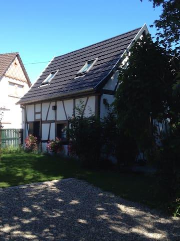 Gîte Ribeaupierre calme ensoleillé - Sundhouse - Hus