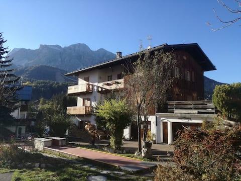 Comodo appartamento nel centro di Cortina