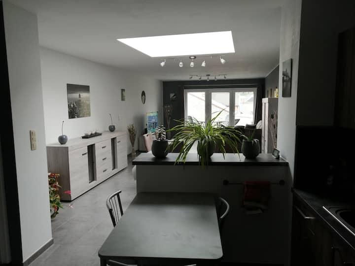 La Louvière house with private room for 1 person²