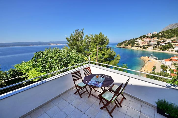 New apartment with big terrace and beautiful view