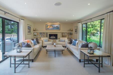 Contemporary Pebble Beach Home - Del Monte Forest - Dom
