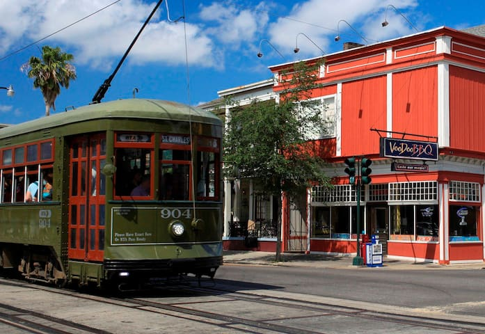 Spacious St Charles Ave - Live the Dream in NOLA!